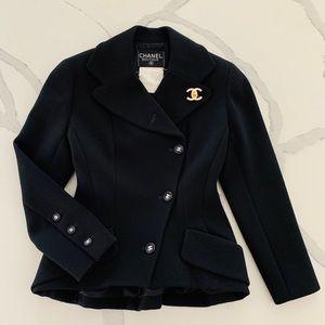 💯Authentic Chanel Wool Blazer